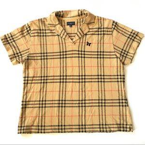 BURBERRY GOLF Nova Check Vintage Shirt